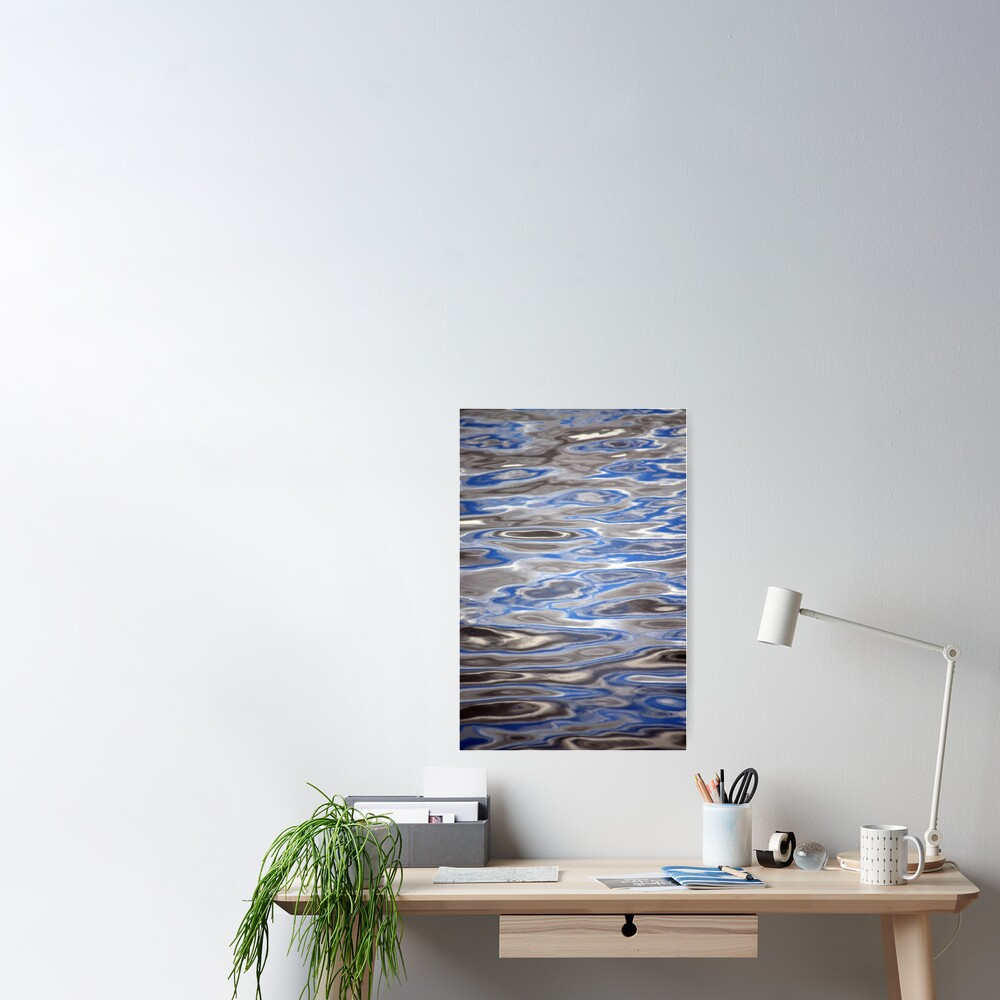Watery Abstract Poster