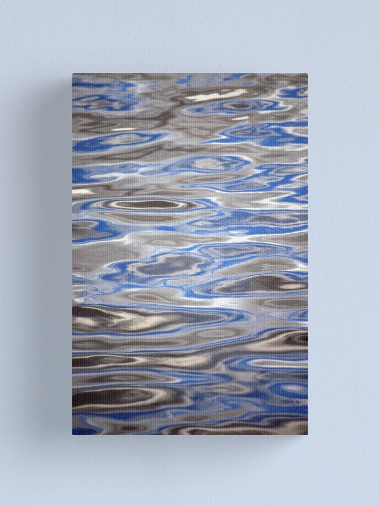 Alternate view of Watery Abstract Canvas Print