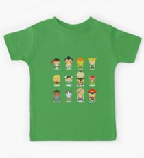 Street fighter - the world warrior Kids Clothes