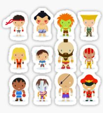 Street fighter - the world warrior Sticker
