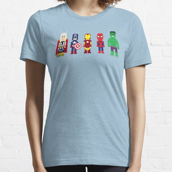 8-Bit Super Heroes! Essential T-Shirt