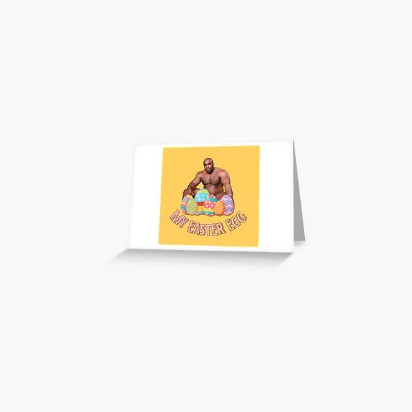 Bobblehead de Barry Wood - Mi huevo de pascua Tarjetas de felicitación