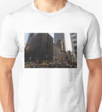 Christmas Shopping on Fifth Avenue, Manhattan, New York City Unisex T-Shirt