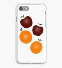 Apples and Oranges iPhone / Samsung Galaxy Case iPhone Case/Skin