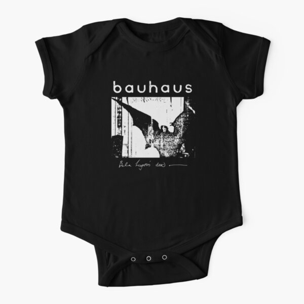 Bauhaus - Bat Wings - Bela Lugosi's Dead Short Sleeve Baby One-Piece