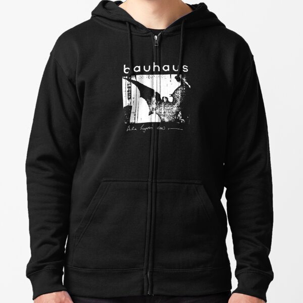 Bauhaus - Bat Wings - Bela Lugosi's Dead Zipped Hoodie