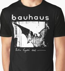 Bauhaus - Bat Wings - Bela Lugosi's Dead Graphic T-Shirt