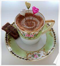 Tea time treat Poster