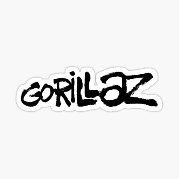 Gorillaz  Pegatina