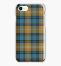 02855 Washington County, Arkansas Tartan  iPhone Case/Skin