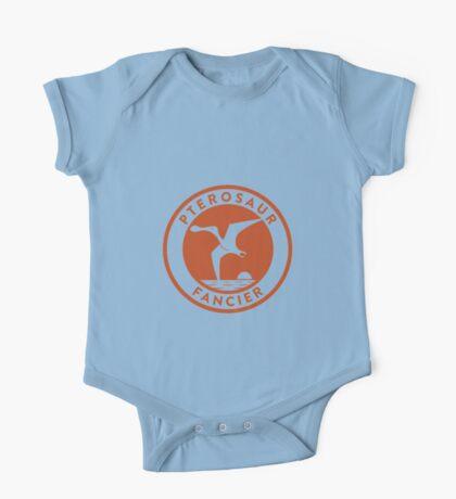 Pterosaur Fancier Tee (Orange on White) Kids Clothes