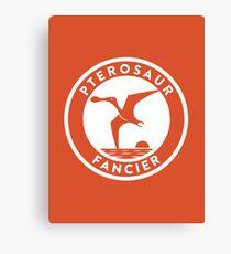 Pterosaur Fancier Print Canvas Print