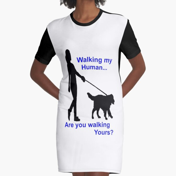Dogs life and Pets Graphic T-Shirt Dress