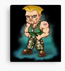 Guile Canvas Print