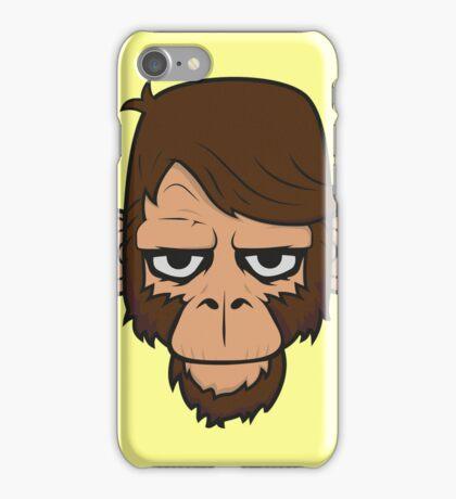 Monkey Hipster iPhone Case/Skin