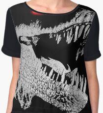 Cyborg T-rex Women's Chiffon Top