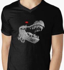 Cyborg T-rex Men's V-Neck T-Shirt