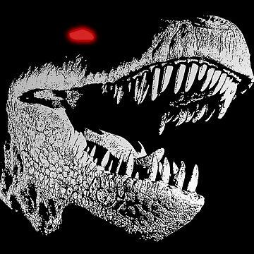 Cyborg T-rex by herbertshin