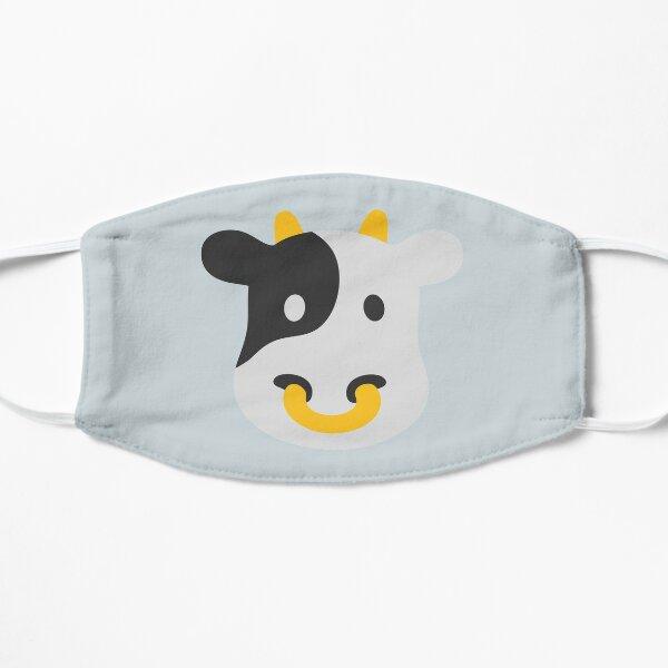 Regalo de cara de vaca feliz para los amantes de las vacas Mascarilla