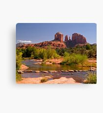 Red Rock Crossing near Sedona Canvas Print