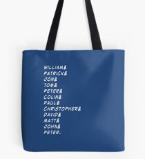 doctor&who Tote Bag