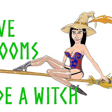 Save Brooms ...Ride a witch by RichardBrain