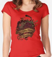 Chocobo Hot & Cold Women's Fitted Scoop T-Shirt