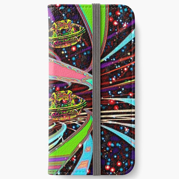 Galaxia Veeslia Skyway iPhone Wallet