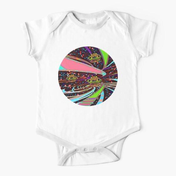 Galaxia Veeslia Skyway Short Sleeve Baby One-Piece