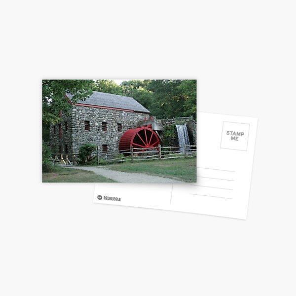 Grist Mill Postcard