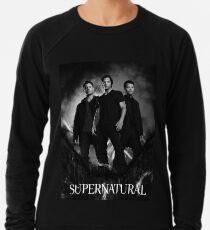 übernatürliches Schwarz und Weiß Leichtes Sweatshirt