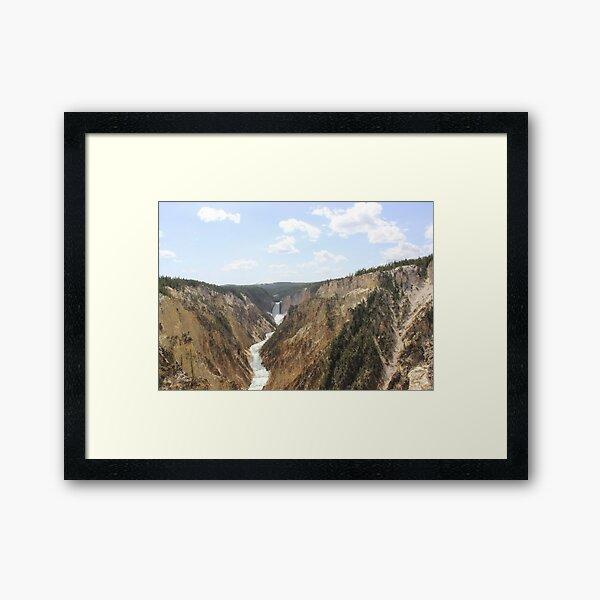 Grand Canyon of Yellowstone Framed Art Print