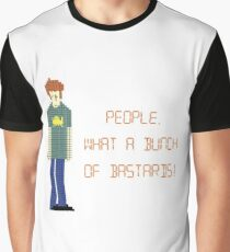 The IT Crowd – People, What a Bunch of Bastards! Graphic T-Shirt