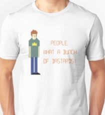 The IT Crowd – People, What a Bunch of Bastards! Unisex T-Shirt