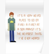 The IT Crowd – A Fire at Sea Parks?! Poster