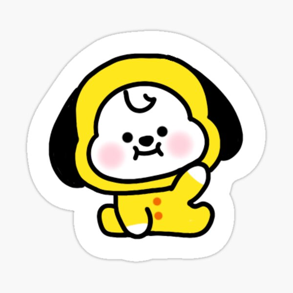 BT21 Chimmy Pegatina