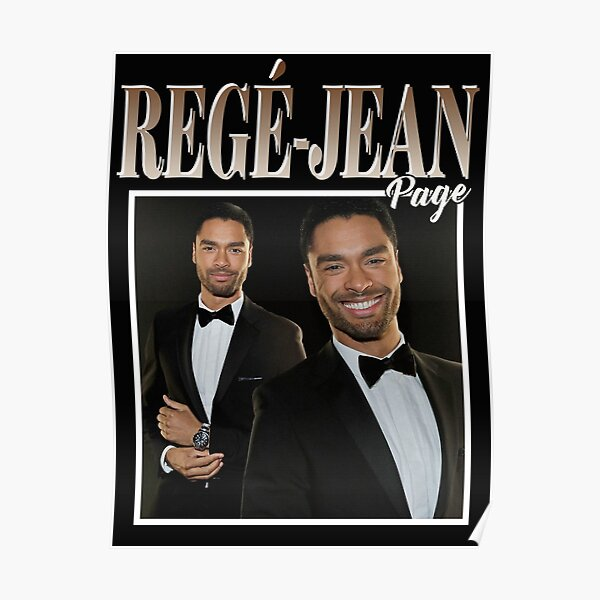Rege Jean Page T-Shirt Poster