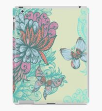 Butterfly & Rose iPad Case/Skin