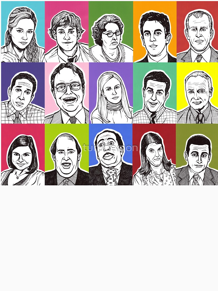 The Office Cast by turddemon