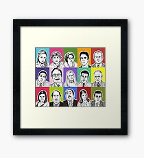 The Office Cast Framed Print
