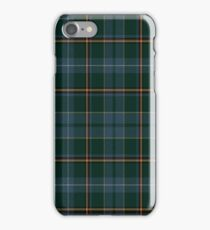 02843 Linn County, Iowa Tartan  iPhone Case/Skin