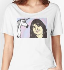 Steve Perry and Unicorn Women's Relaxed Fit T-Shirt