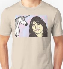 Steve Perry and Unicorn Unisex T-Shirt