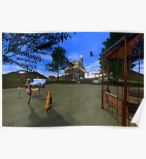 The Artist - Digital Oil Painting version Poster