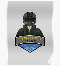 Air Force - Fighter Pilot Poster