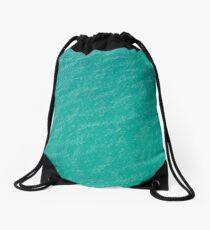 Hebridean sea green Drawstring Bag