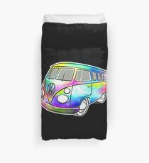 VW T1 magic bus Duvet Cover