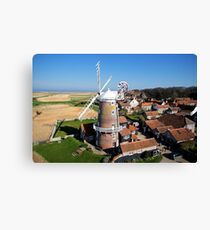 Cley Windmill - Unusual Aeriel shot Canvas Print