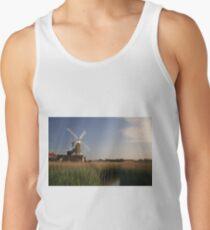Cley Windmill - Unusual Aeriel shot Tank Top