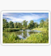 Rural Lake Sticker